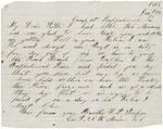 Letter to sister Helen, January 17, 1864