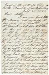 Letter to mother Emily Baker, July 8, 1864 by Sylvester Baker