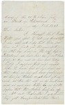 Letter to Mother, July 17, 1864