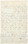 Letter to sister, July 17, 1864