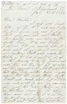 Letter to father from Petersburg, July 21, 1864