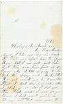 Letter to brother, March 2, 1868