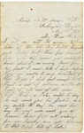 Letter to sister, Arlington Heights, May 15, 1865