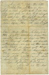 Letter to mother, May 18, 1864