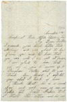 Letter to father, November 1, 1863