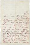 Letter to sister, November 15, 1863