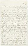 Letter to sister Helen, November 20, 1862