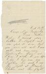 Letter to sister Helen, October 18, 1863