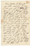Letter to Mother & Father near Sharpsburg, October 26, 1862
