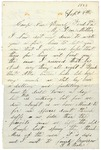 Letter to Mother, September 9, 1863