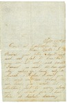 Letter to sister from Culpeper, Virginia, September 26, 1862
