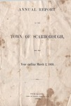 Scarborough Annual Report - 1868 by Town of Scarborough, Maine