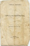 Scarborough Annual Report - 1874 by Town of Scarborough, Maine
