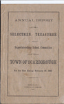 Scarborough Annual Report - 1882 by Town of Scarborough, Maine