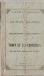 Scarborough Annual Report - 1883 by Town of Scarborough, Maine