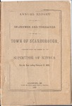 Scarborough Annual Report - 1888 by Town of Scarborough, Maine