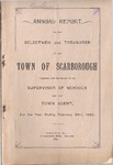 Scarborough Annual Report - 1892 by Town of Scarborough, Maine