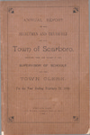 Scarborough Annual Report - 1896 by Town of Scarborough, Maine
