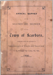 Scarborough Annual Report - 1900
