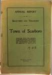 Scarboro Annual Report - 1903 by Town of Scarborough, Maine