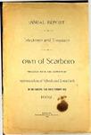 Scarboro Annual Report - 1902