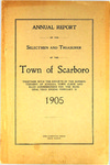 Scarboro Annual Report - 1905 by Town of Scarborough, Maine