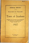 Scarborough Annual Report - 1907