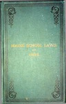 Maine School Laws - 1895 by State of Maine