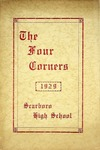 The Four Corners - 1929 - Scarboro High School by Town of Scarborough, Maine