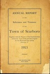 Scarboro Annual Report - 1913 by Town of Scarborough, Maine