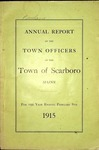 Scarboro Town Report - 1915 by Town of Scarborough, Maine