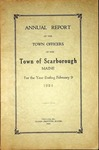Scarborough Annual Report - 1924