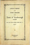 Scarborough Annual Report - 1927 by Town of Scarborough, Maine