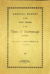 Scarborough Annual Report - 1928 by Town of Scarborough, Maine