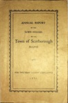 Scarborough Annual Report - 1930 by Town of Scarborough