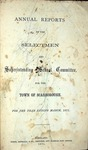 Scarborough Annual Report - 1871