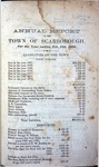Scarborough Annual Report - 1866