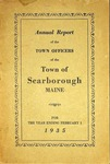 Scarborough Town Report - 1935 by Town of Scarborough