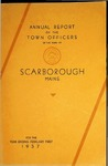 Scarborough Town Report - 1937