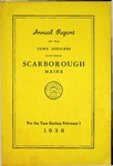 Scarborough Annual Report - 1938 by Town of Scarborough