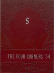 The Four Corners - 1954 by Students of Scarborough High School