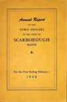 Scarborough Annual Report - 1948 by Town of Scarborough