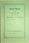 Scarborough Annual Report - 1951
