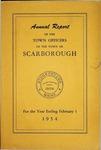 Scarborough Annual Report - 1954