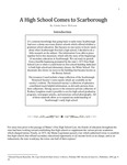 A High School Comes to Scarborough