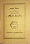 Scarborough Annual Report - 1955
