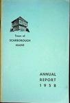 Scarborough Annual Report - 1958