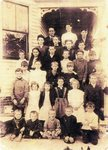 Dunstan School Class of 1904 by Scarborough Historical Society