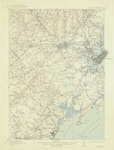 1916 Portland Quadrangle Map by United States Geological Survey