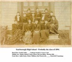 Scarborough High School - Class of 1894 by Town of Scarborough, Maine